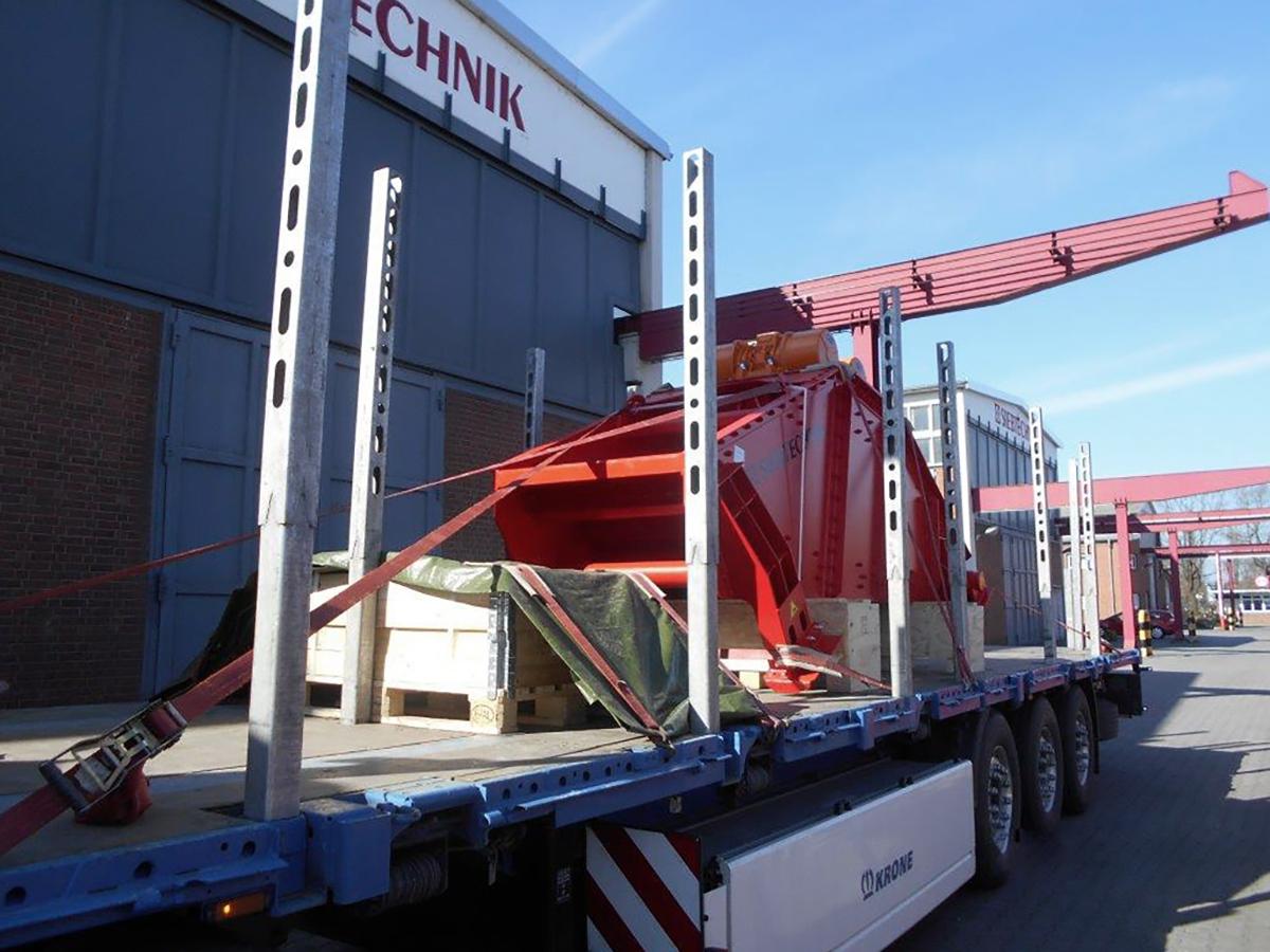 Linearschwingsiebmaschine HR 14-40-I FR Versand