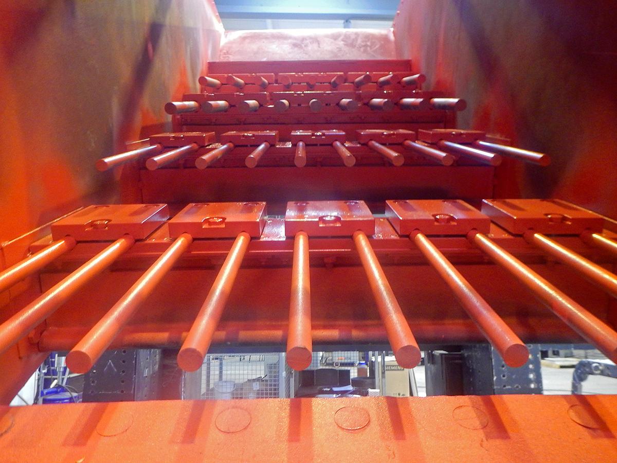 Linearschwingsiebmaschine HR 14-40-I FR Fingerrost