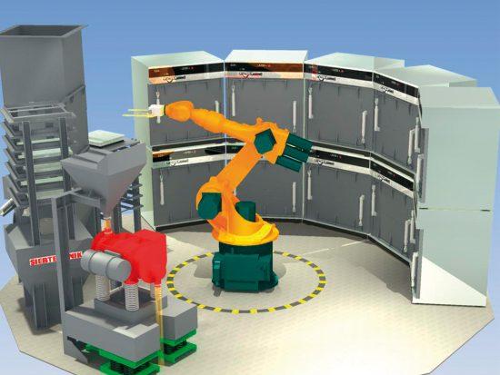 AMAS - Automatisches System zur Feuchtebestimmung von Schüttgutproben