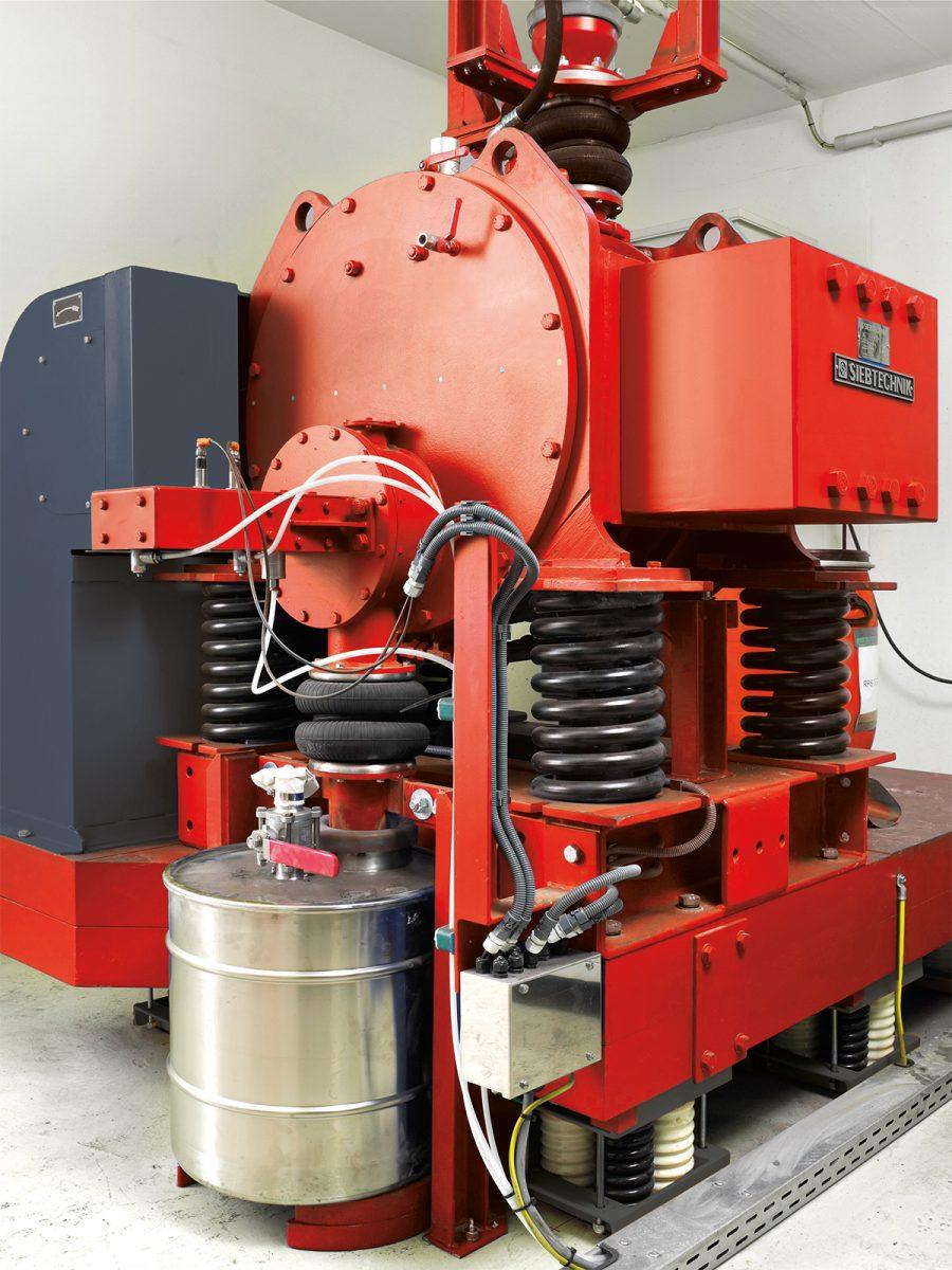 Exzenterschwingmühle ESM 656-0,5bs