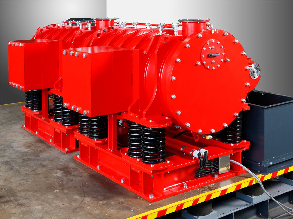 Exzenterschwingmühle ESM 856-2ks, mechano-chemische Aktivierung und Feinstzerkleinerung spröder Materialien aller Härtegrade