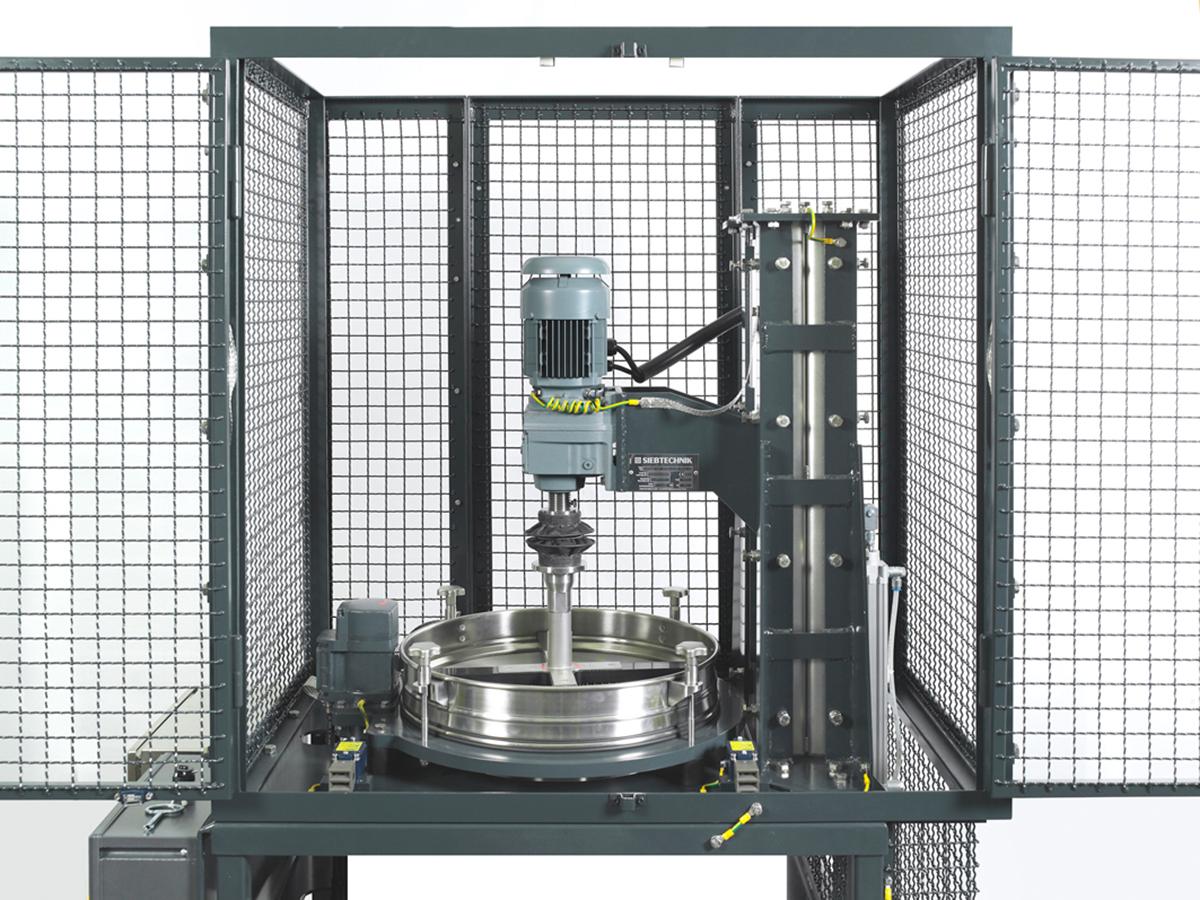 Kontrollsiebmaschine PERFLUX in ATEX Ausführung