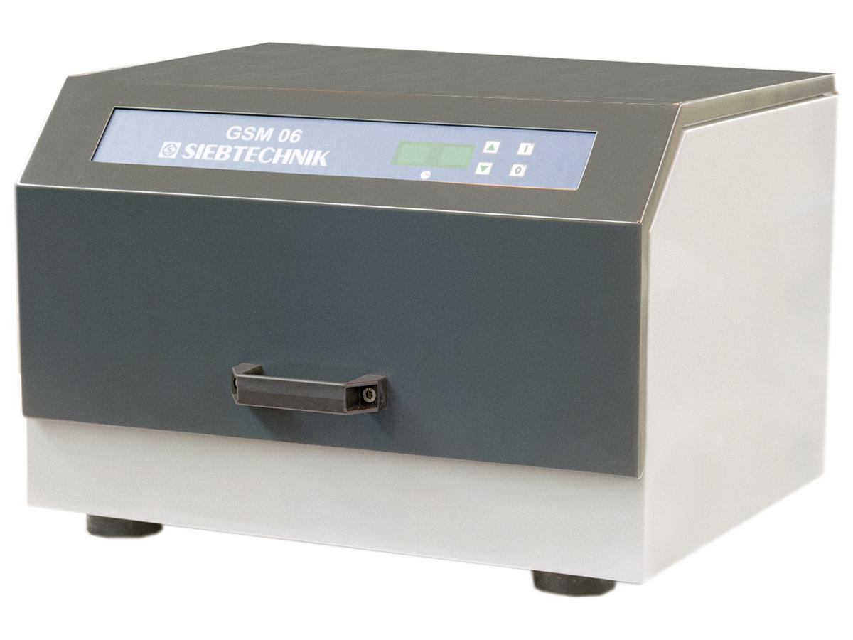 Gefäßschwingmühle GSM 06 zur Fein- und Feinstzerkleinerung von spröden und faserigen Materialien