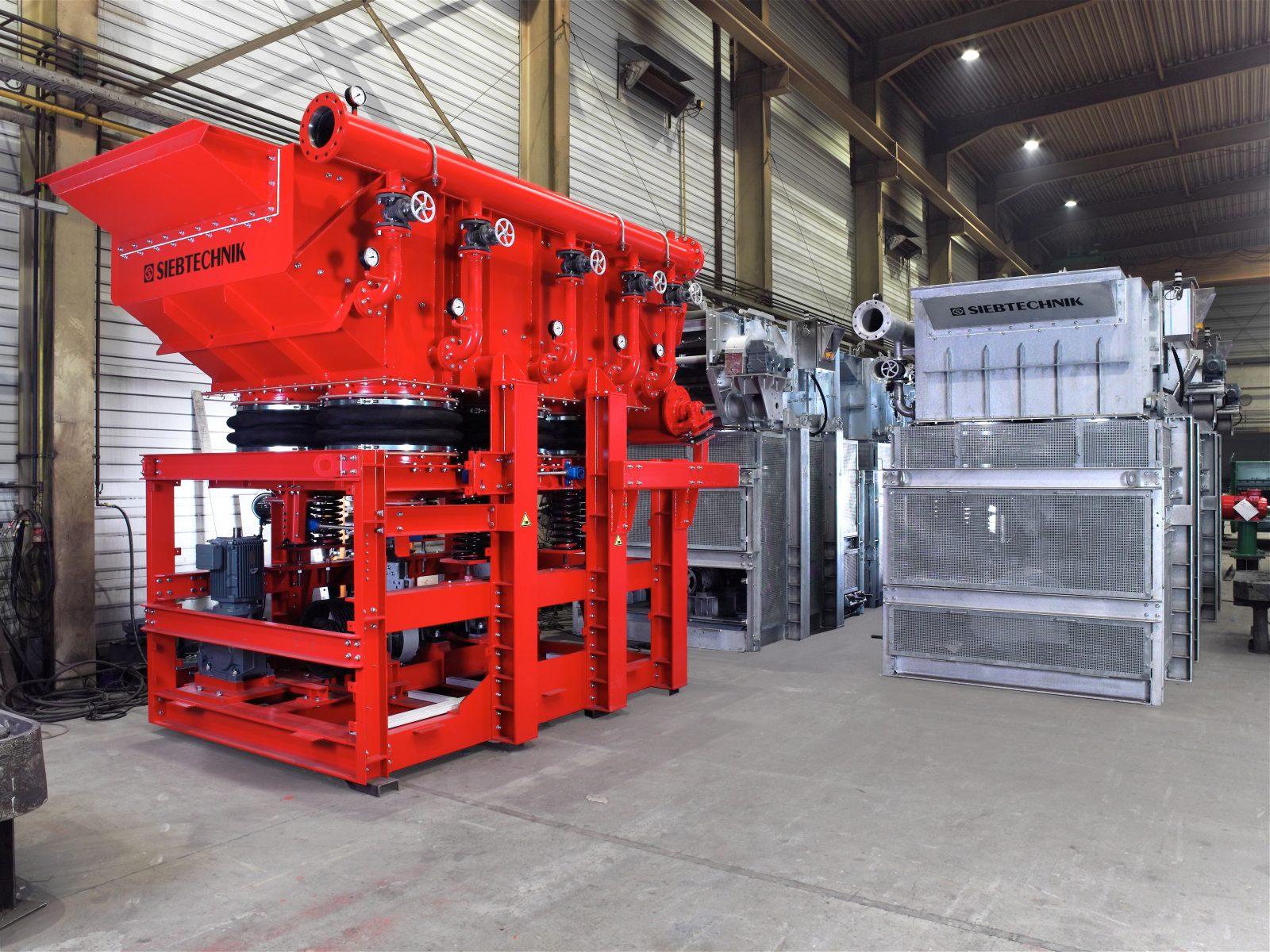 Schwingsetzmaschine SK 16-25 (verzinkt) für Kies & Schwingsetzmaschine SK 16-33 für Erz