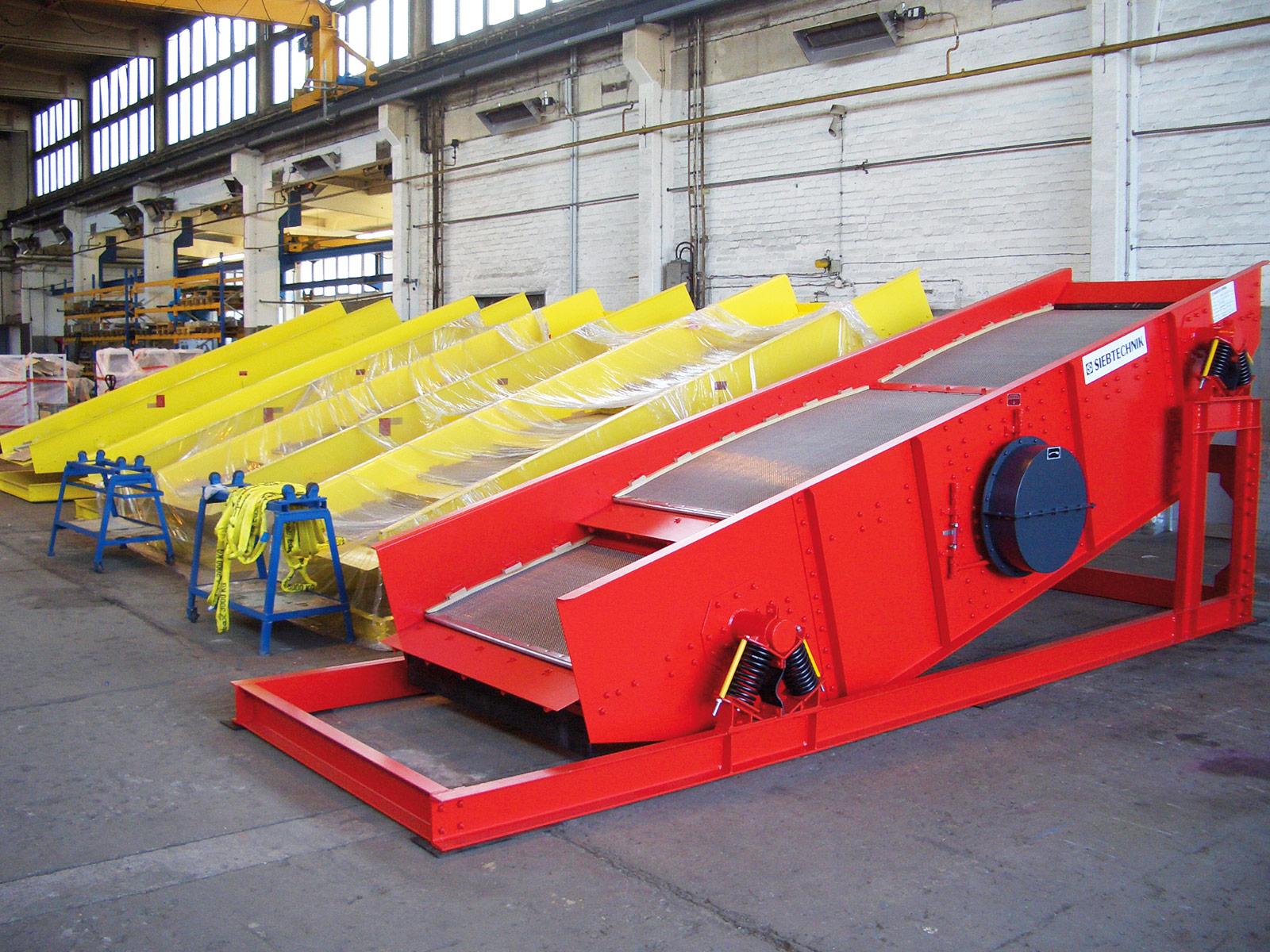 Kreisschwing-Siebmaschine
