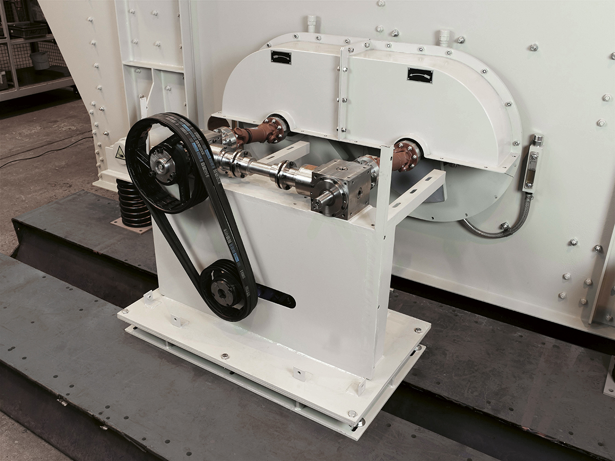 mechanische Ellipsenschwingsiebmaschine