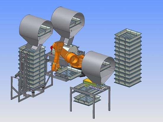 Automatisches Sieb- und Festigkeitsprüfsystem (ASST)