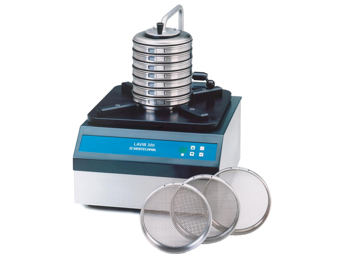 SIEBTECHNIK Analysensiebmaschine LAVIB