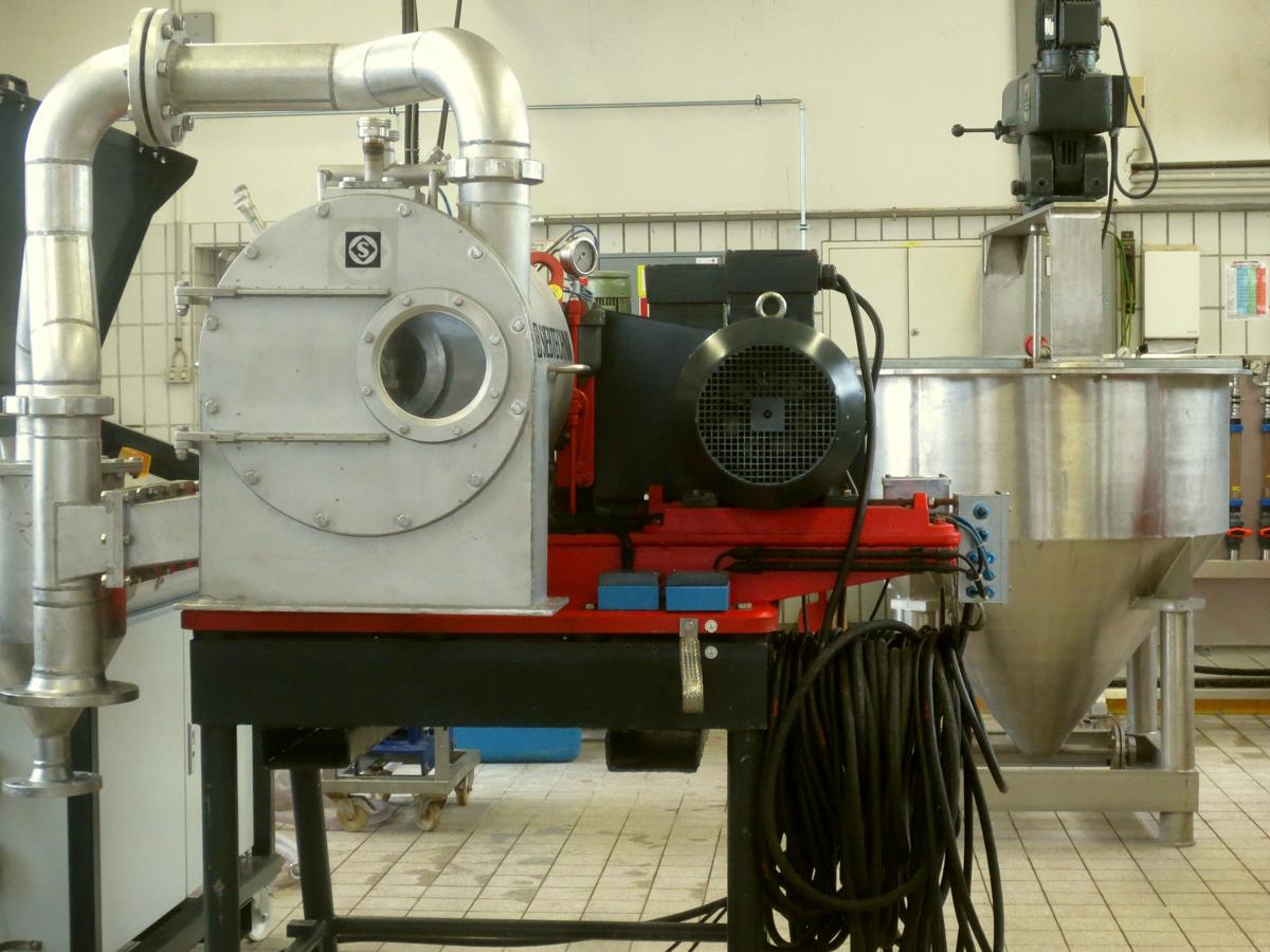 Labor und Technikum - Versuchsmaschine