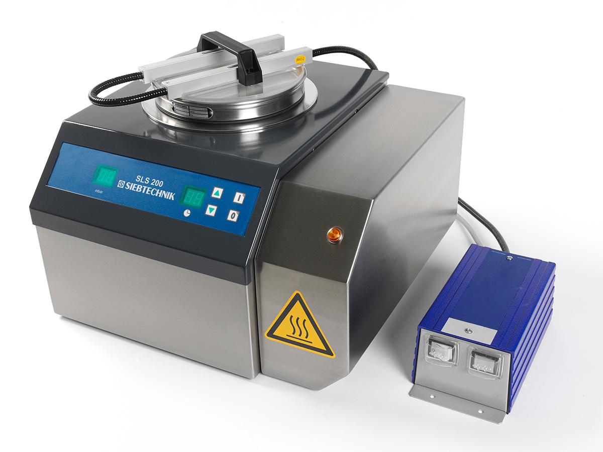 Luftstrahlsieb SLS 200 mit Luftvorwärmung als Zusatzkomponente