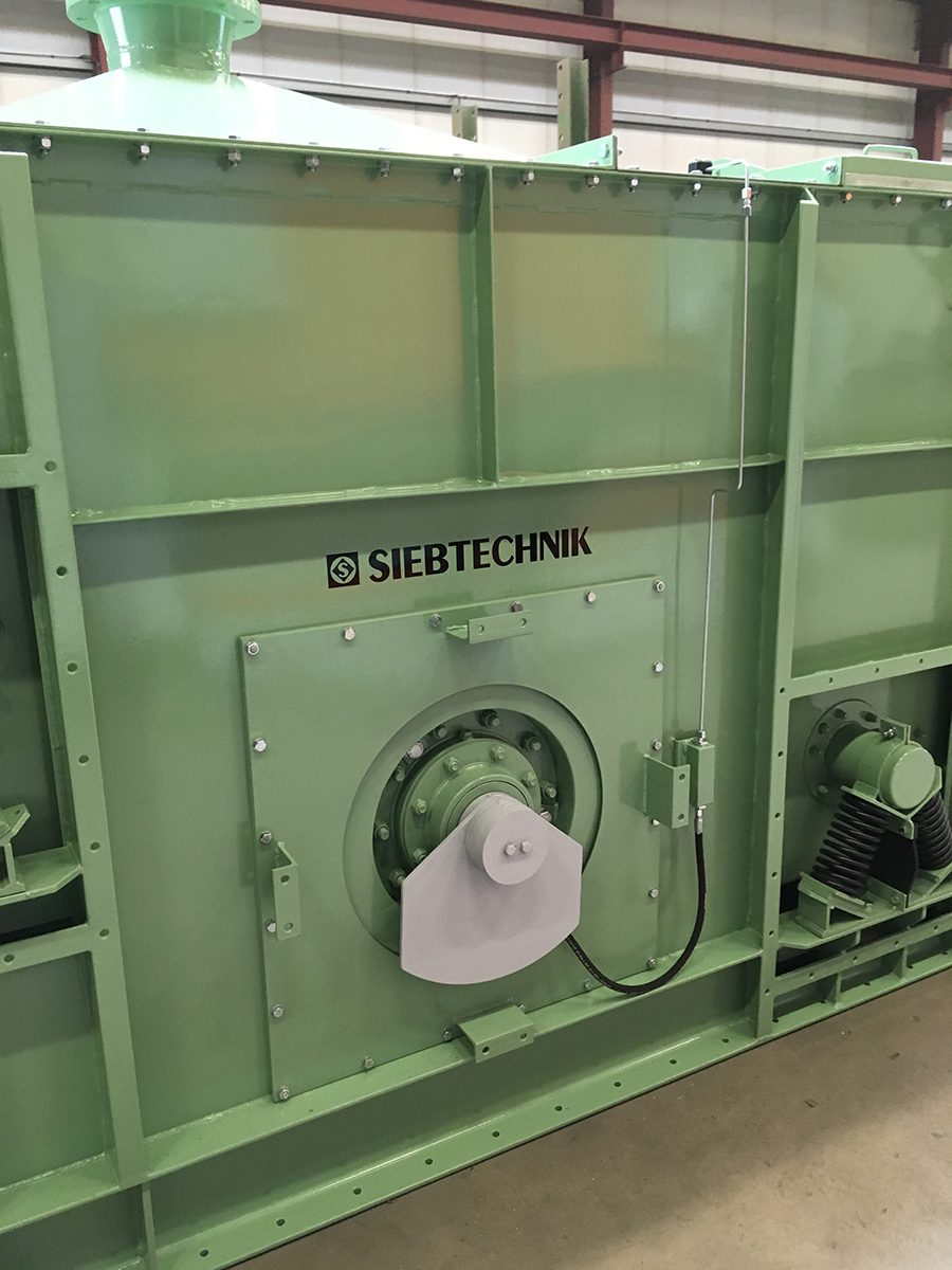 Zubehör Kreisschwingsiebmaschine V 12-30 I L Staubschutz