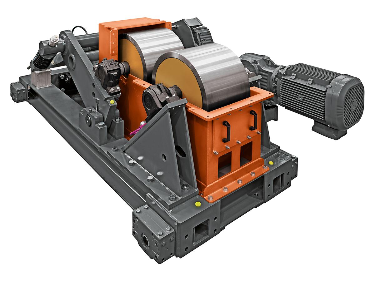 SIEBTECHNIK TEMA Zweiwalzenmühle ws 600 x 400